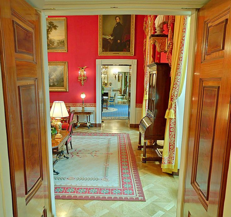 The Red Room .inside The White House