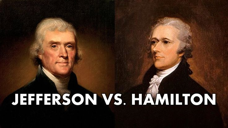 comparison between jefferson and hamilton Social studies comparing the ideas of hamilton and jefferson study guide by muim includes 10 questions covering vocabulary, terms and more quizlet flashcards, activities and games help you improve your grades.