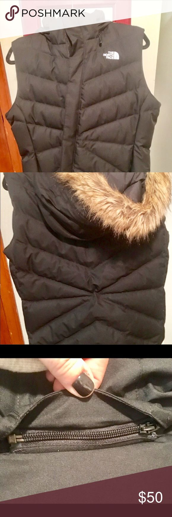 North Face Women's Down Vest with removable hood. NWT Ladies North Face Vest. Down, with removable hood. North Face Jackets & Coats Vests
