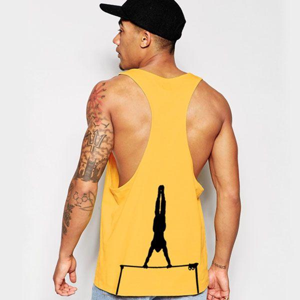 Camiseta amarilla Barcelona Street Workout Sudadera sin capucha de Barcelona Street Workout #sport #workout #streetworkout #barcelona #camisetas #best #sudaderas #logo #ropa #design #fitness