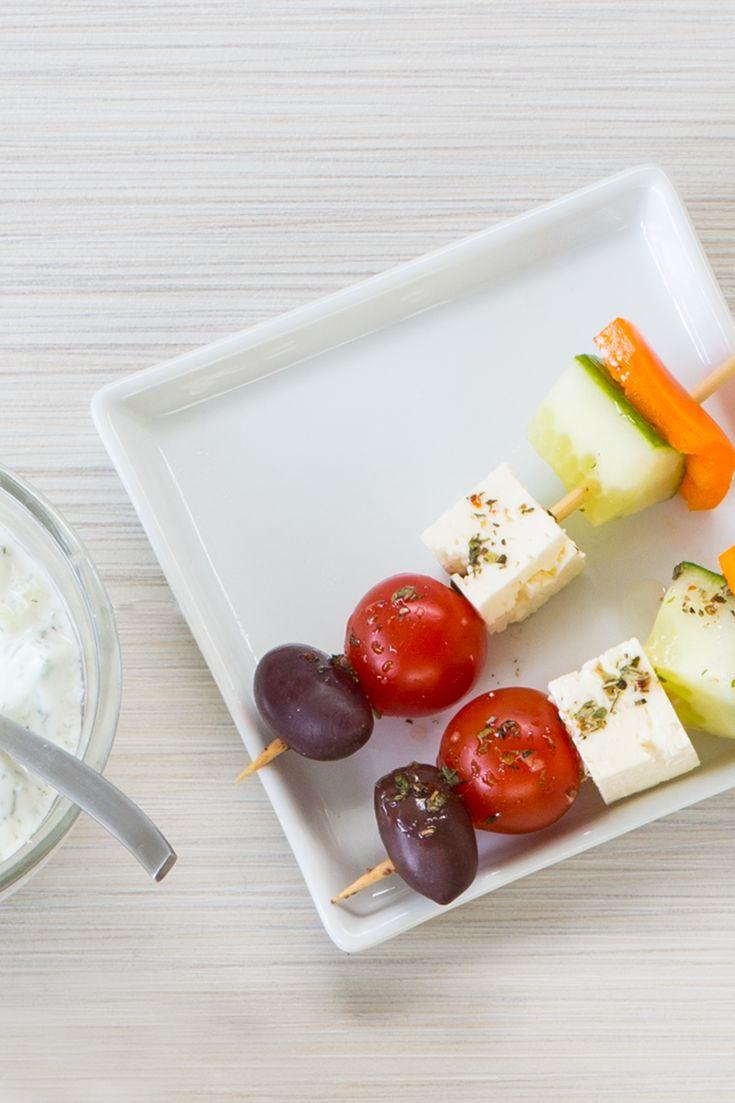 #Epicure Greek Salad Appy #meatless #vegetarian