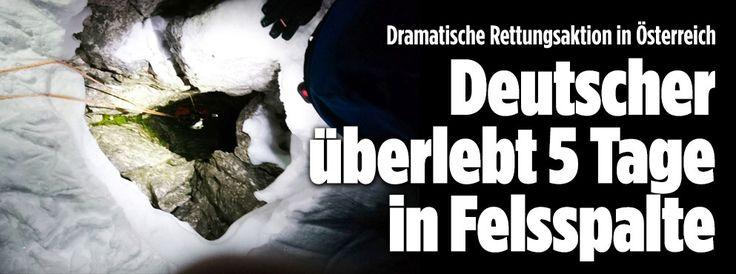 Dramatische Rettungsaktion in Österreich