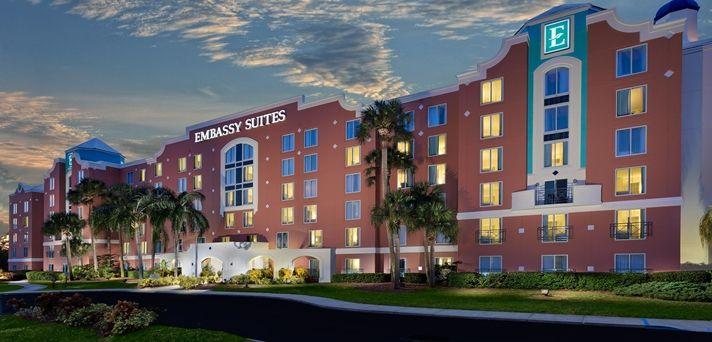 Embassy Suites Orlando - Lake Buena Vista Hotel, FL - Hotel Exterior