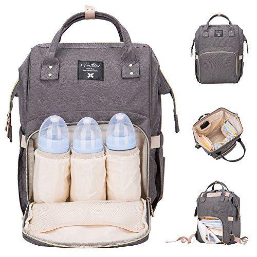 976ec881aaca Lifecolor Diaper Bag Multi-functional Nappy Bags Waterpro ...