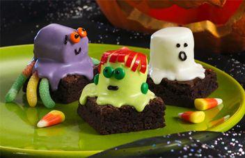 Spooky Brownie Recipe | Halloween Brownies | Betty Crocker