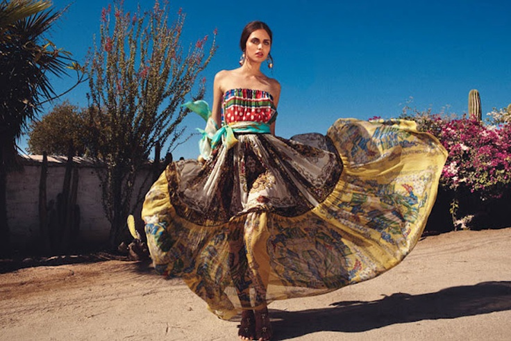 Spell and the Gypsy Collective.: Grazia Germany, Long Skirts, Tina Luther, Mexicans Inspiration, May 5, Yana Sotnikova, April 2012, Viva Mexico, Germany April
