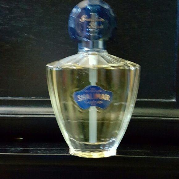 Eau de cologne Shalimar Guerlain Paris perfume  Accessories