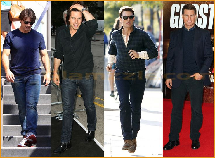 Tom Cruise Casual Wear And Formal Wear Outfits Fashion
