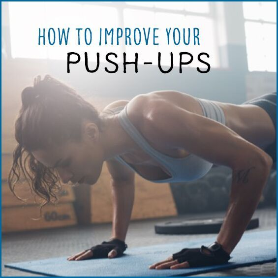 Learn how to do a proper push-up and improve your form to get better results!