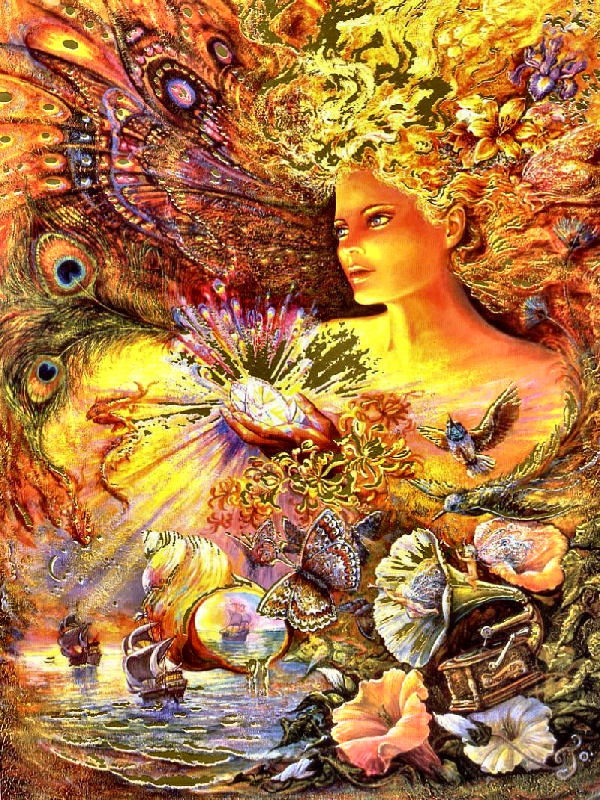 Crystal of Enchantment by Josephine Wall