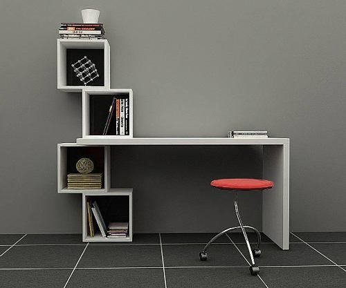 Las 25 mejores ideas sobre escritorio para pc en pinterest - Escritorio para habitacion ...