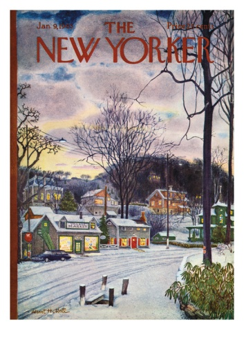 The New Yorker Cover - January 9, 1965 Giclee Print by Albert Hubbell at Art.com