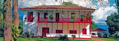 Colombian Coffee Farm House