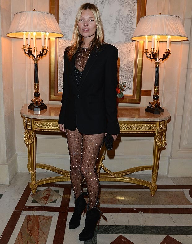 Kate Moss at CR Fashion book party