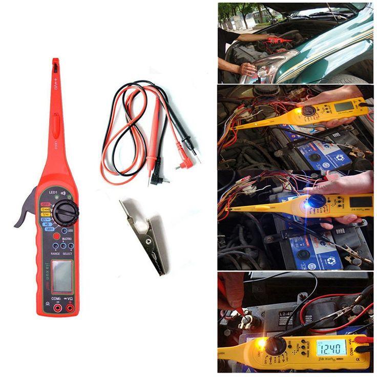 Wielofunkcyjny Auto Obwodu Tester Multimetr Multimetr Lampa 3 w 1 Naprawa Samochodów Motoryzacja Elektryczne 0 V-380 V Napięcie narzędzia