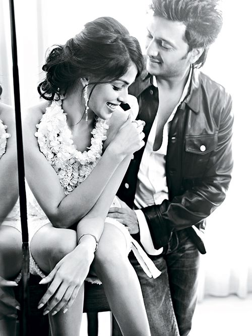 Bollywood, Tollywood & Más: Ritesh Deshmukh and Genelia D'Souza Verve 2012 Photography R Burman