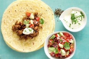150 family dinners under 500 calories - Burritos - goodtoknow