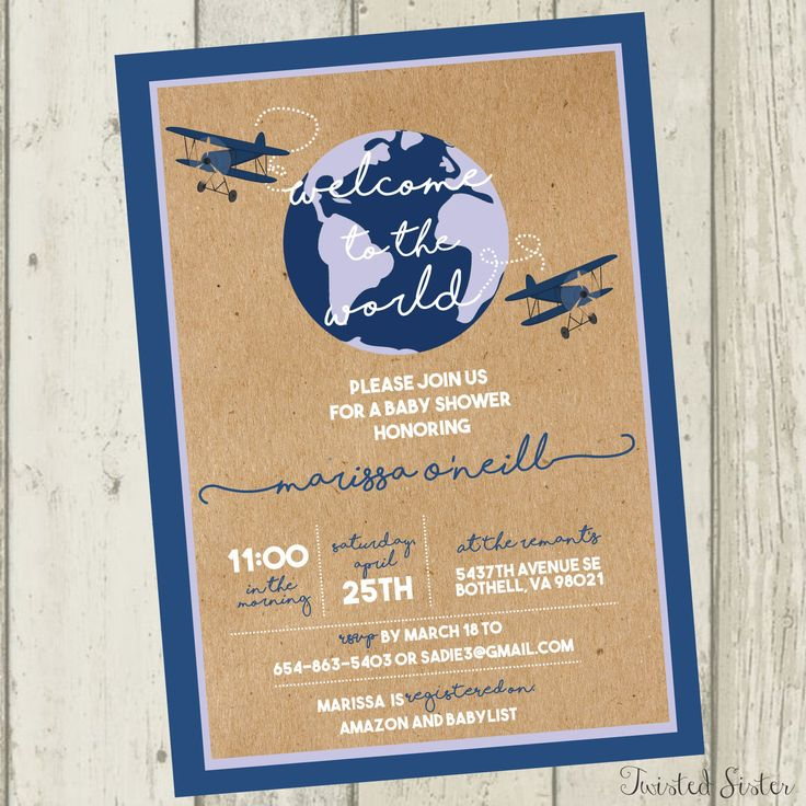 inspirational baby shower invitation wording%0A Airplane Baby Shower Invite  Plane Baby Shower Invitation  Co Ed Baby  Shower Invite