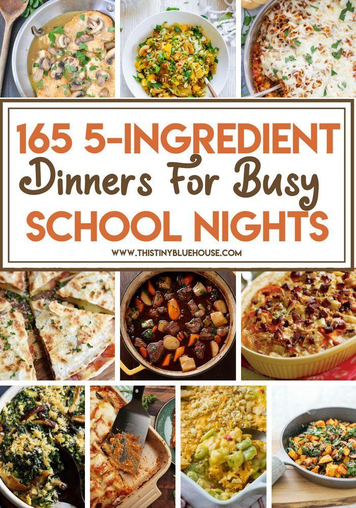 135 Easy Delicious 5 Ingredient Dinners 5 Ingredient Dinners