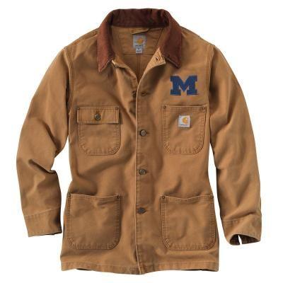 Carhartt Men's Michigan Weathered Chore Coat