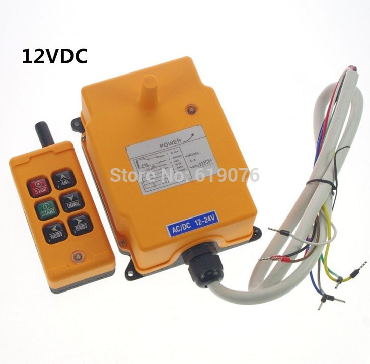 radio remote up and down control systems | цена на HS-6 12VDC 1 Speed 6 Channels Control Hoist Crane Remote ...