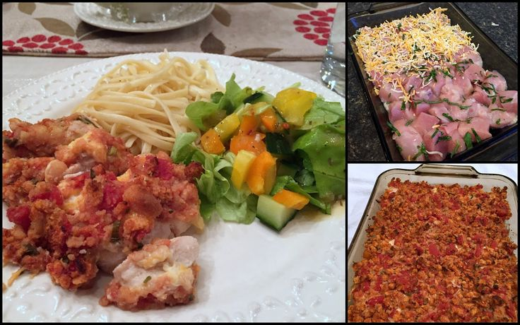 This simple and delicious Italian chicken bake is one I originally posted in fall of 2008 . Since then I have made it a number of times ...