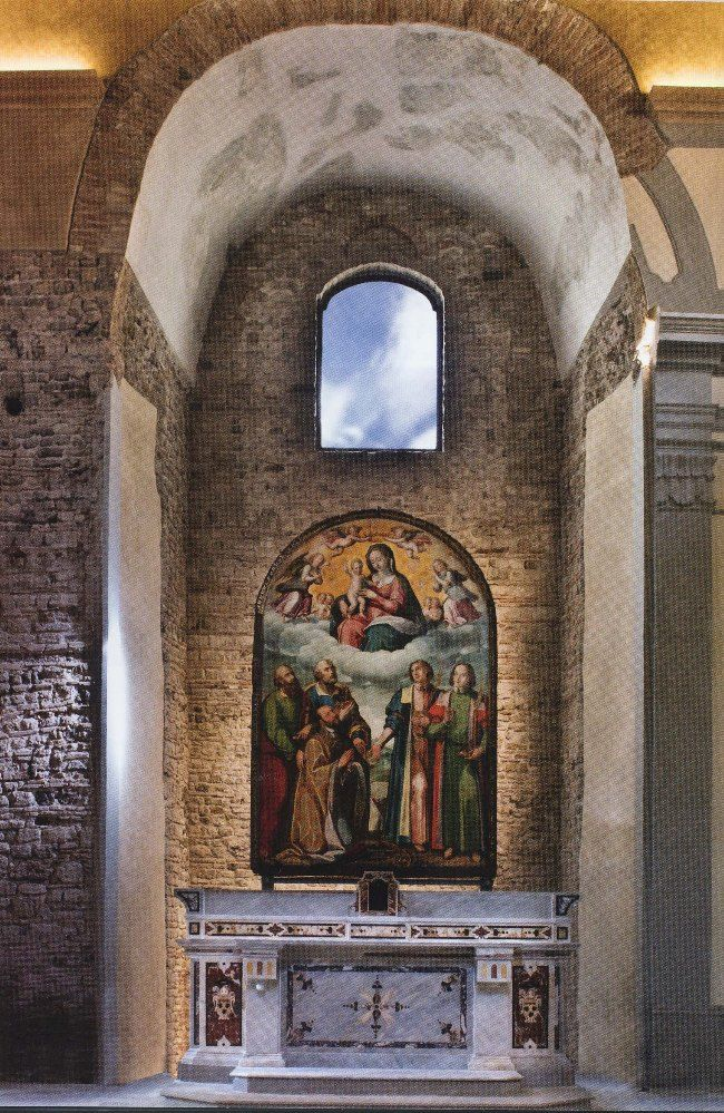 San Pietro a Corte.  It's the most important #Longobard establishment of #Salerno