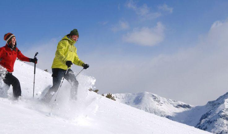 Beliebt bei allen Gästen - das Schneeschuhwandern