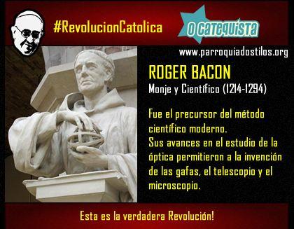 Roger Bacon #RevolucionCatolica
