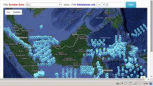 Peta Karakteristik Laut Nasional