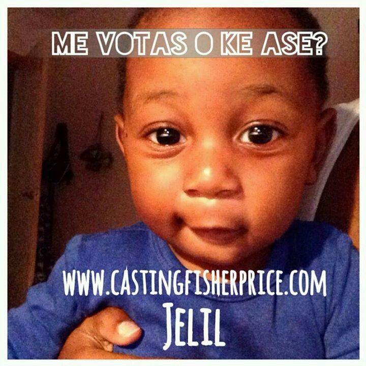 Votar a mi hijo está en la segunda fase del con curso El casting de Fisher-Price - http://castingfisherprice.com/es/miperfil/2640