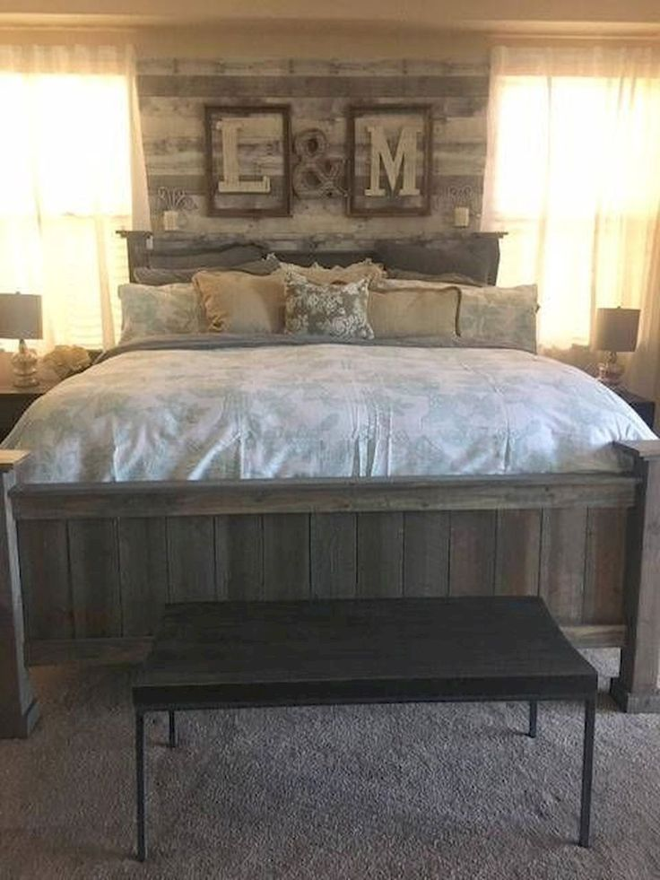 A Must see List- Rustic Farmhouse Bedroom Master Suite