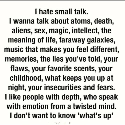 "Definitely me! It's hard to find a true intellectual and intelligent conversation anymore though. The world seems to only know ""stupid""now.:("