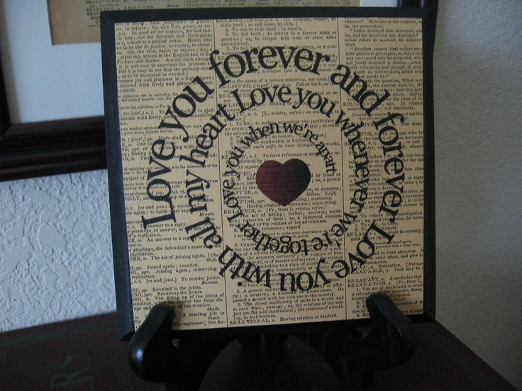 Beatles Song Lyric Art Block - I Will - Love Song - Spiral - Typography - Wood Plaque. $22.50, via Etsy.