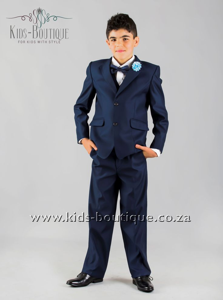 3 Piece Navy Blue Suit Italian Cut