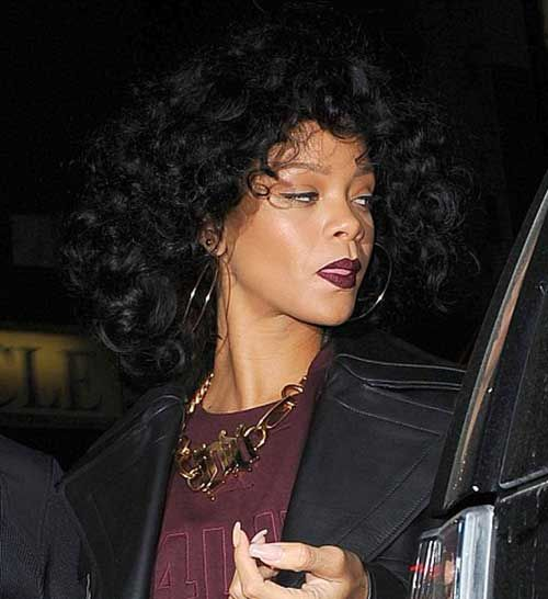 25 Best Ideas About Rihanna Curly Hair On Pinterest