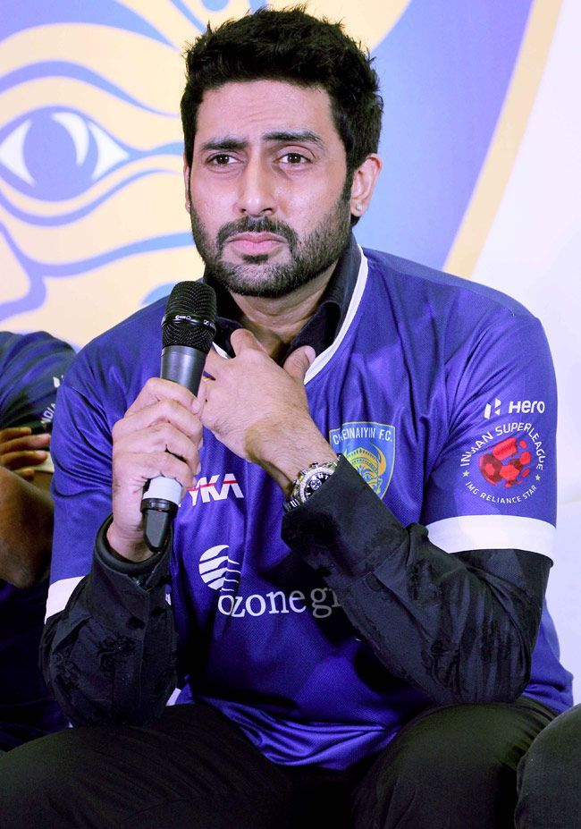 Abhishek Bachchan Speech at Chennaiyin FC Official jersey