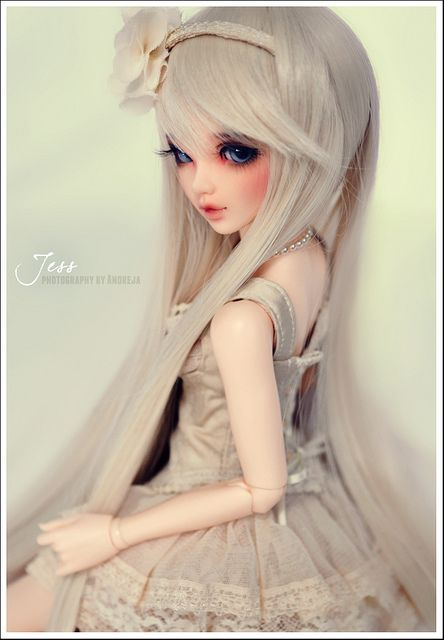 Jess in New Cream Outfit by ***Andreja*** on Flickr.