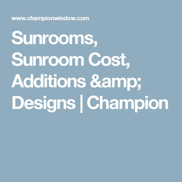 The 25 Best Sunroom Cost Ideas On Pinterest Deck