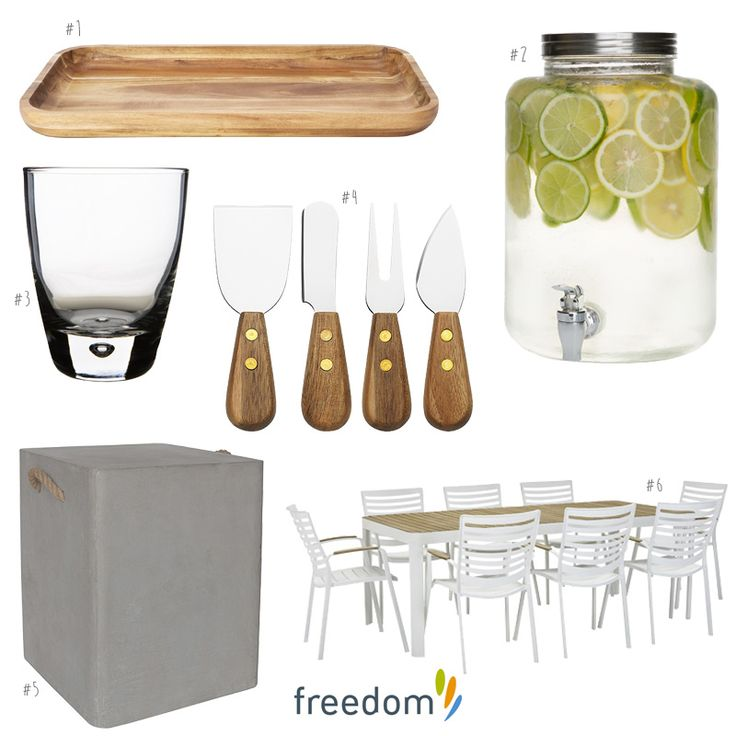 Outdoor Entertaining- The Home Scene's Favourite Picks   Style By Freedom