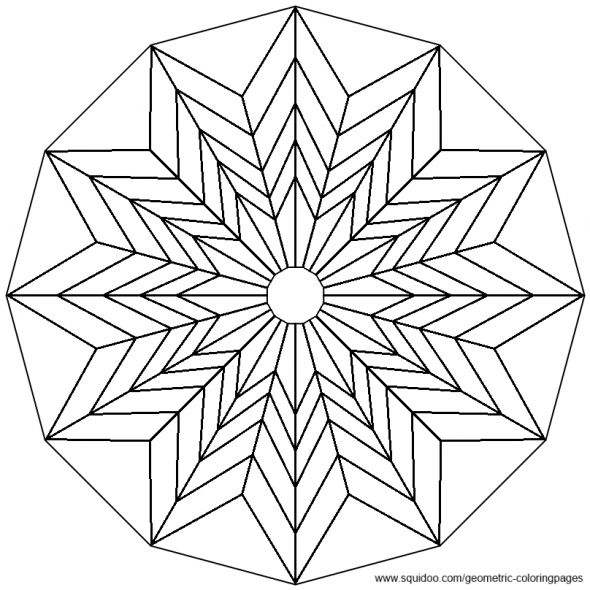 Geometric Art Coloring Book : 408 best colour in . circular patterns images on pinterest