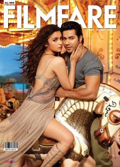 Alia and Varun cover Filmfare