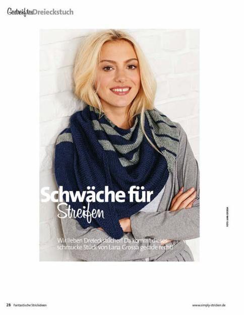 Fantastische Strick Ideen 01/2016 enthält 50 Strickanleitungen für Pullover, Jacken, Accessoires und mehr für Erwachsene, Babys und Kinder.