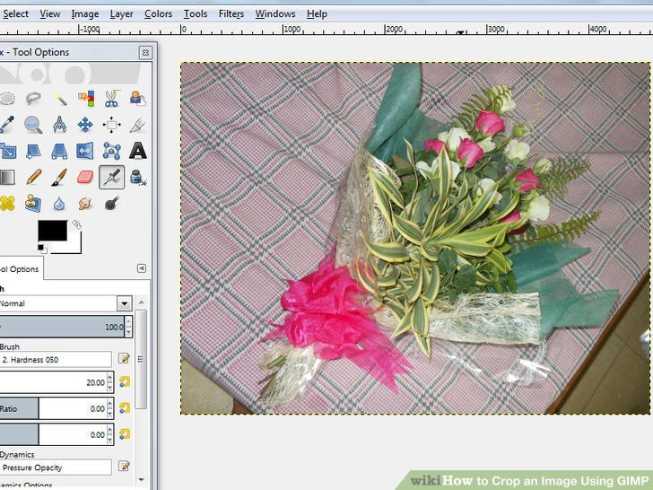 Image titled Crop an Image Using Gimp Step 1