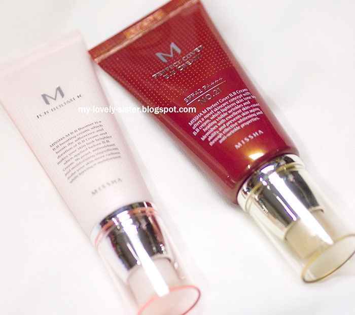 My Lovely Sister ♥ a blog with love: Mondays Love Pick : MISSHA M Perfect Cover BB Cream and MISSHA M BB Boomer
