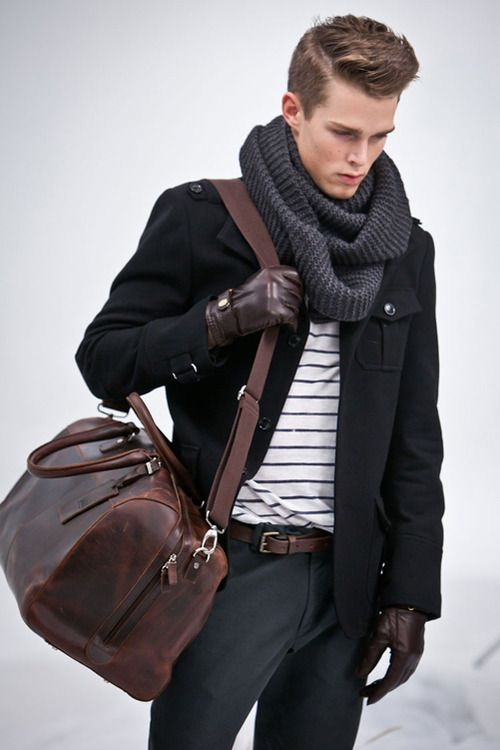 scarf and bag