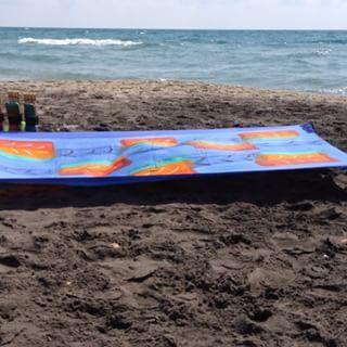 #wbk'szone#nuovetendenze#prendisole #sole #mare #sea #sun #spiaggia #design #artigianato #vento #handmade #beachaccessorize
