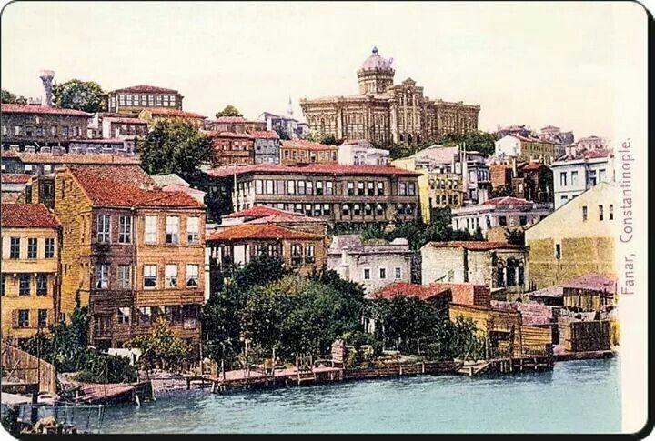Fener Rum Erkek Lisesi  1903 Kırmızı mektep Istanbul Turkiye