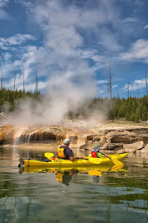 Yellowstone Kayak Tours, Jackson Hole Kayak Tours, Grand Teton Wyoming Kayaking and Canoeing, Geyser Kayak