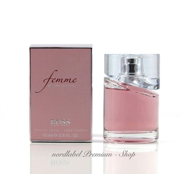 HUGO BOSS FEMME BY BOSS EAU DE Parfum Spray 75 ml Neu & OVP!